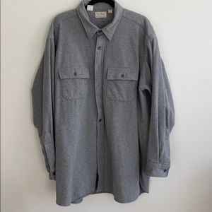 L.L. Bean Heavy Flannel Shirt